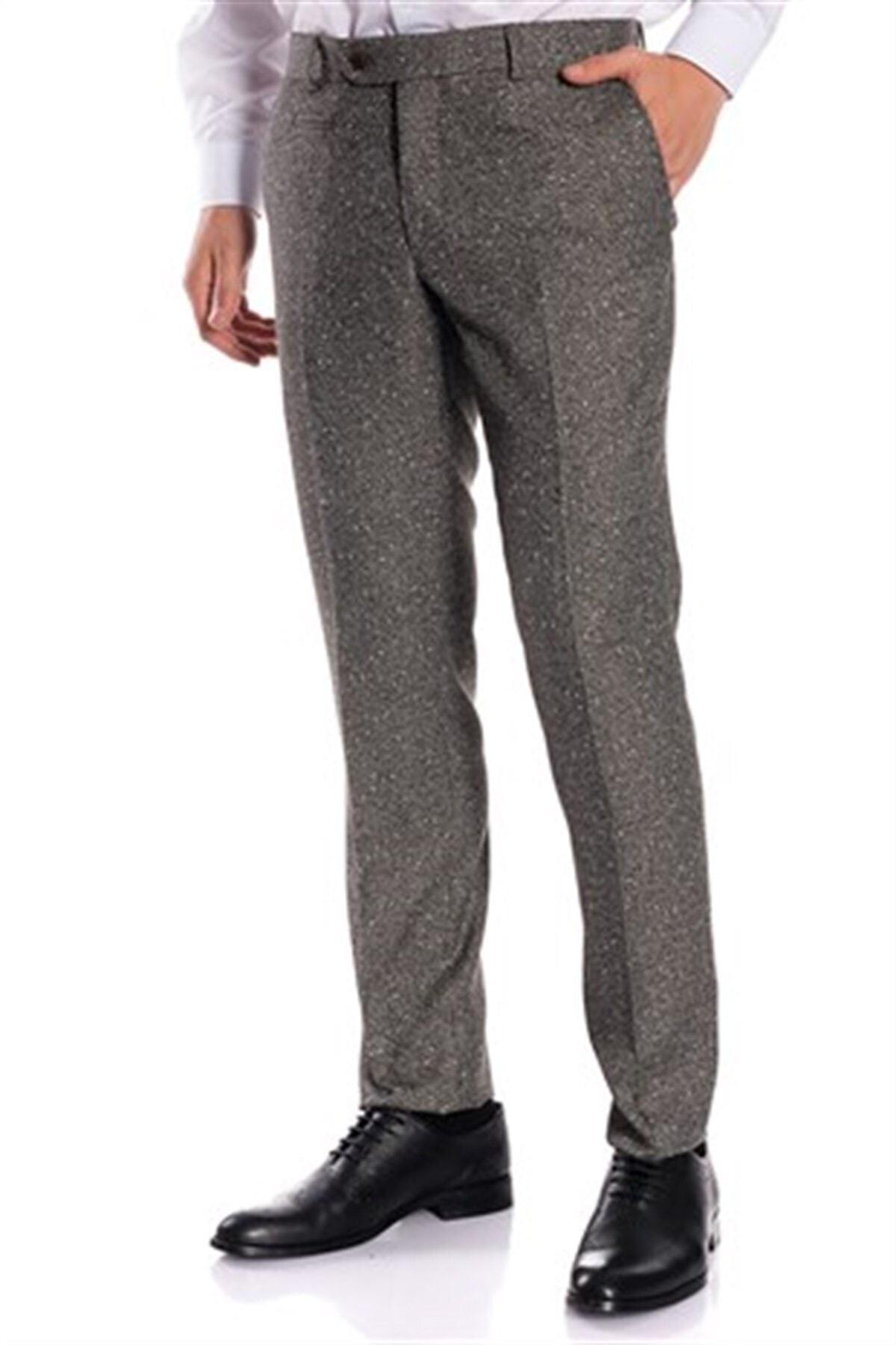 İgs Erkek Lacivert Slim Fit Pantolon 2