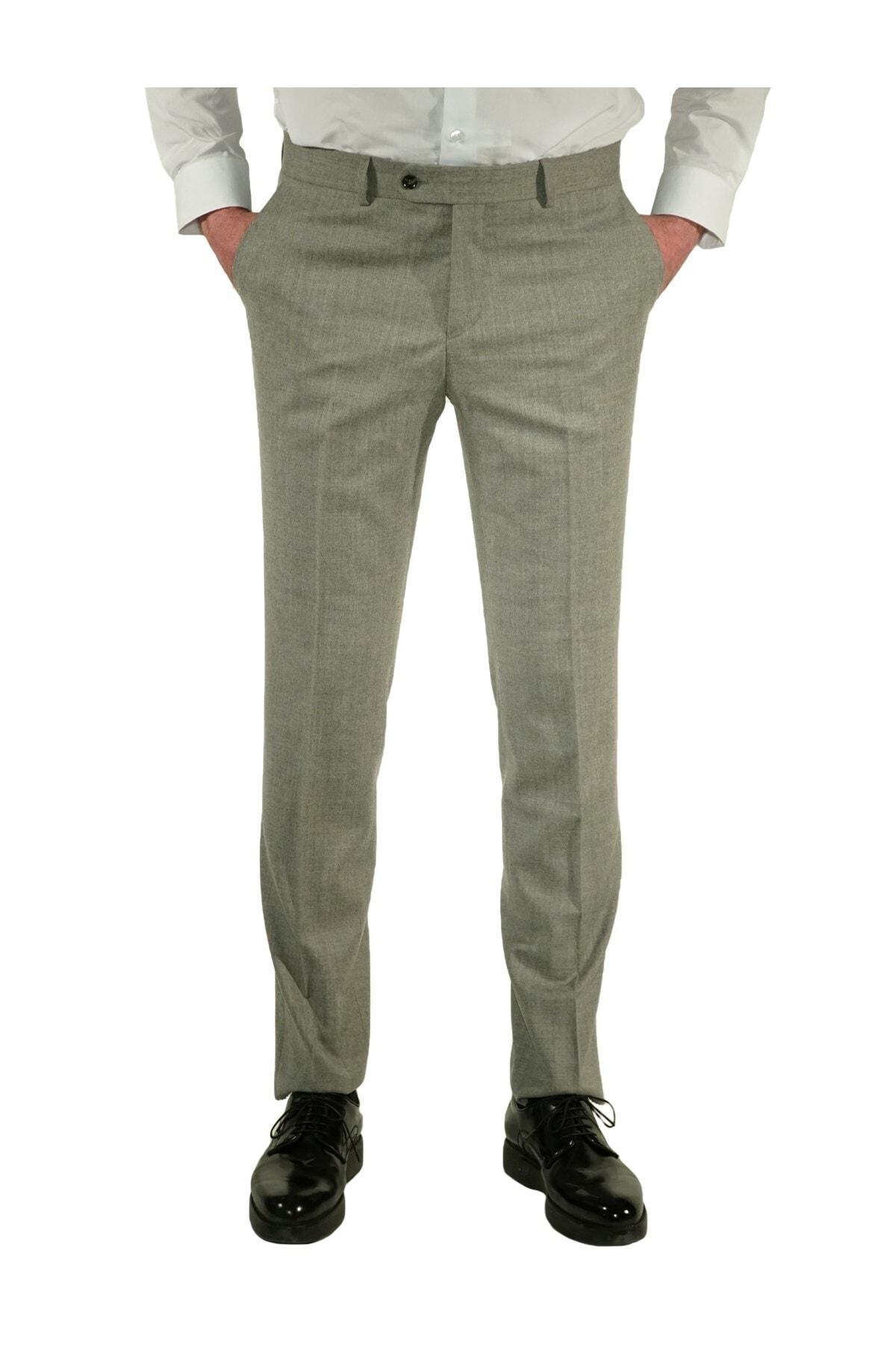 İgs Erkek Gri Regular Fit Exclusive Pantolon 1