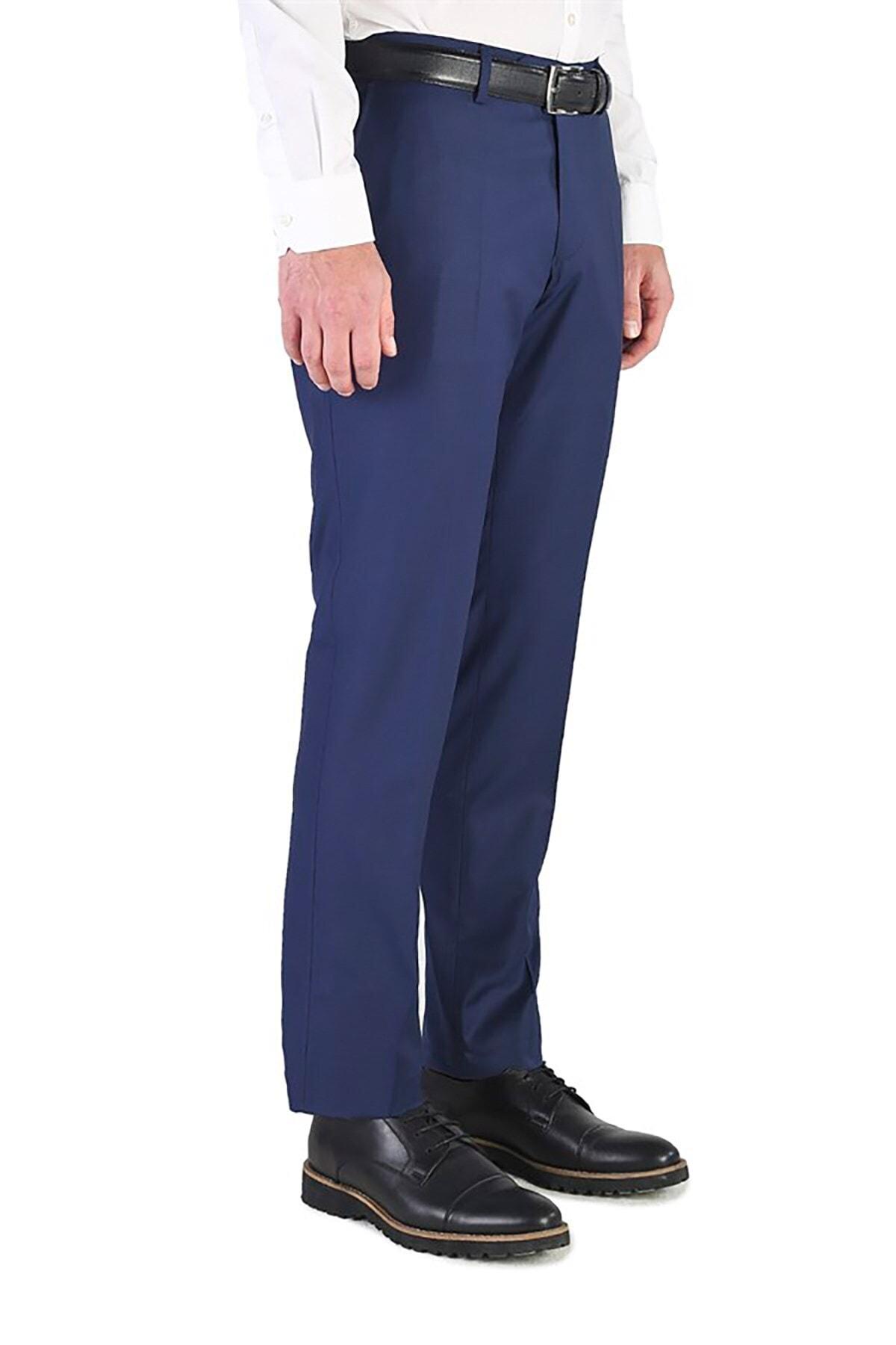İgs Erkek Lacivert Regular Fit Pantolon 2