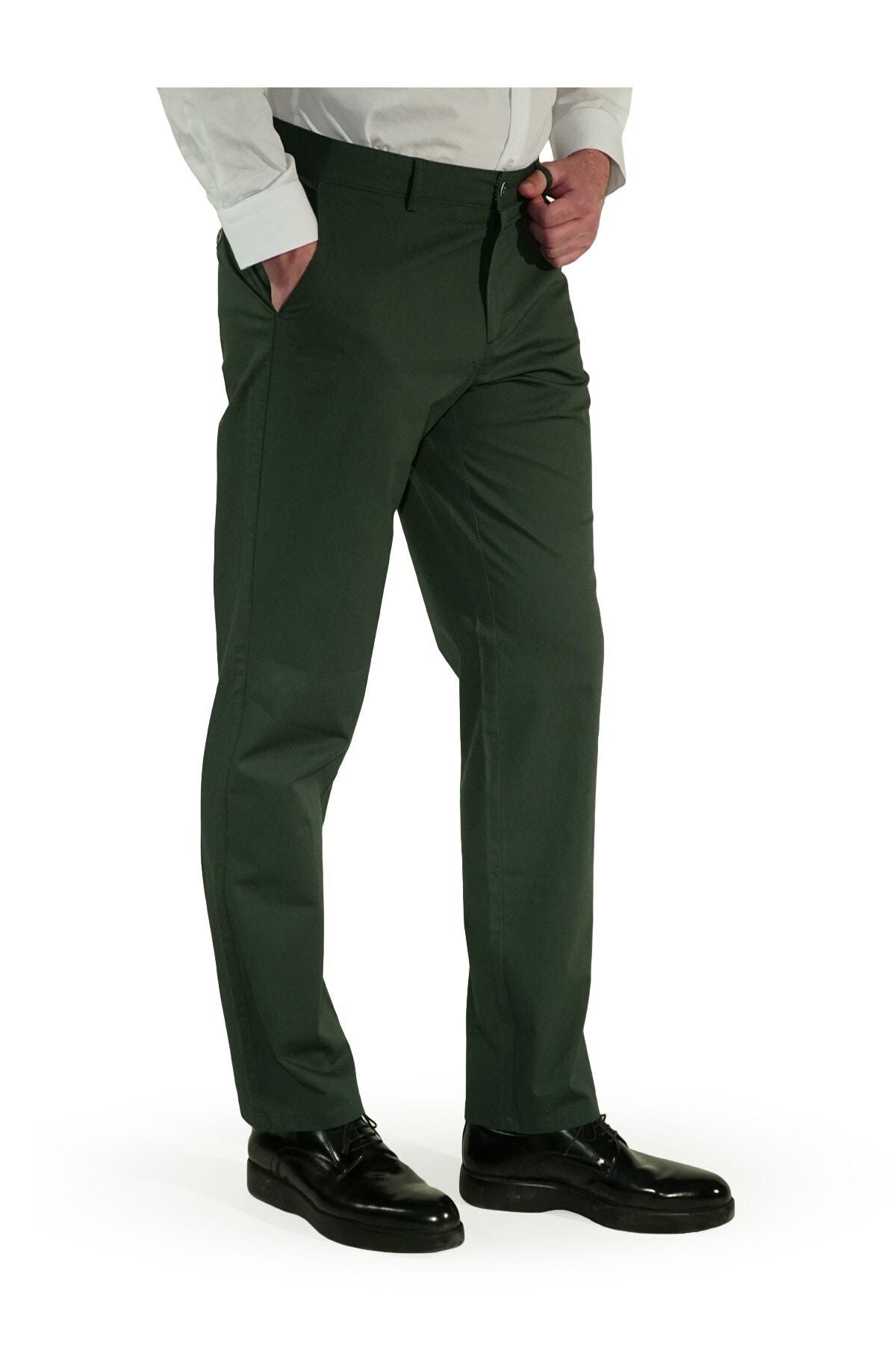 İgs Erkek Yeşil Regular Fit Aguard Pantolon 1