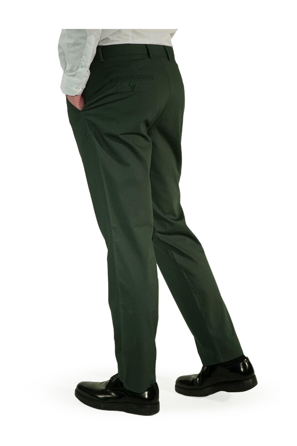 İgs Erkek Yeşil Regular Fit Aguard Pantolon 2