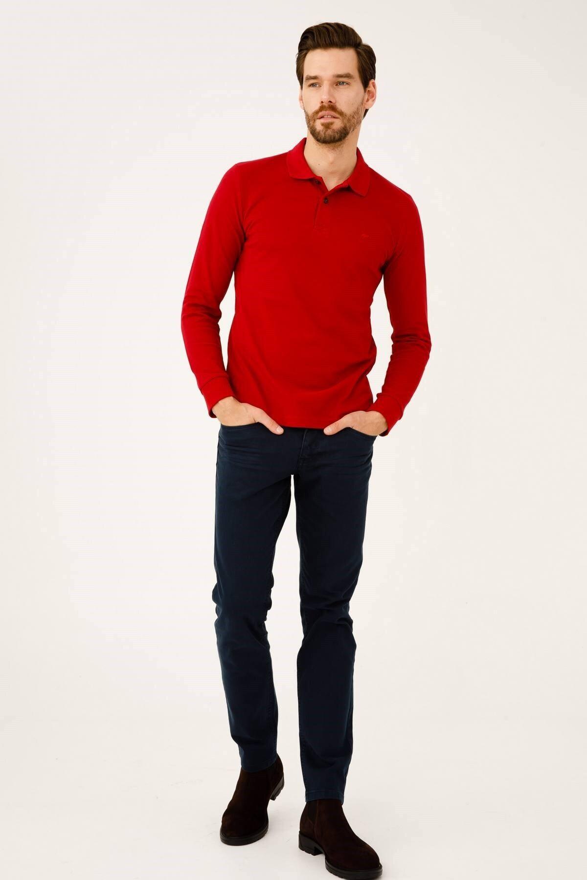 İgs Erkek Lacivert Dar Kalıp Pantolon 1