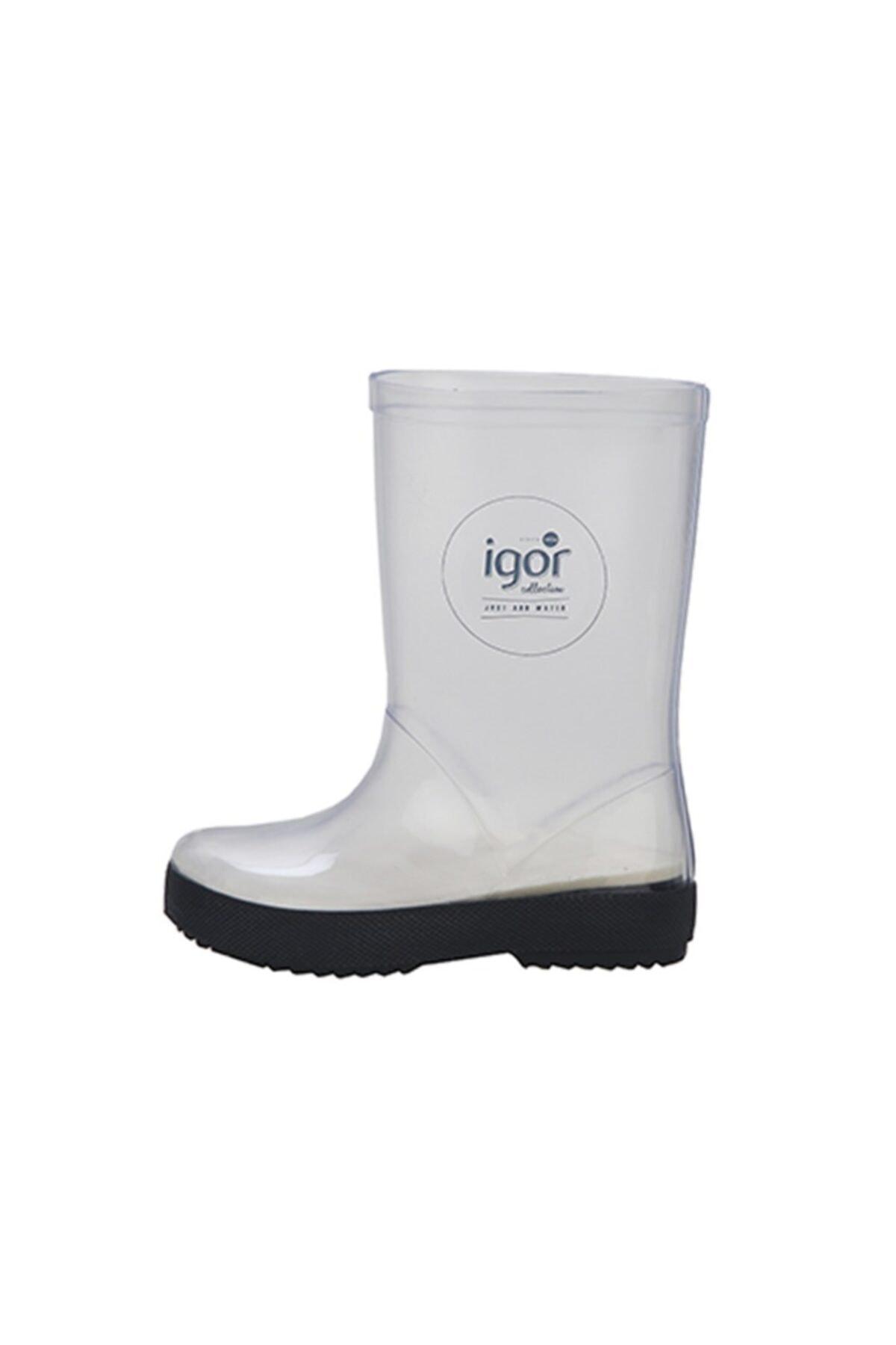 IGOR Kadın Beyaz Splash Cristal Yağmur Çizmesi 2