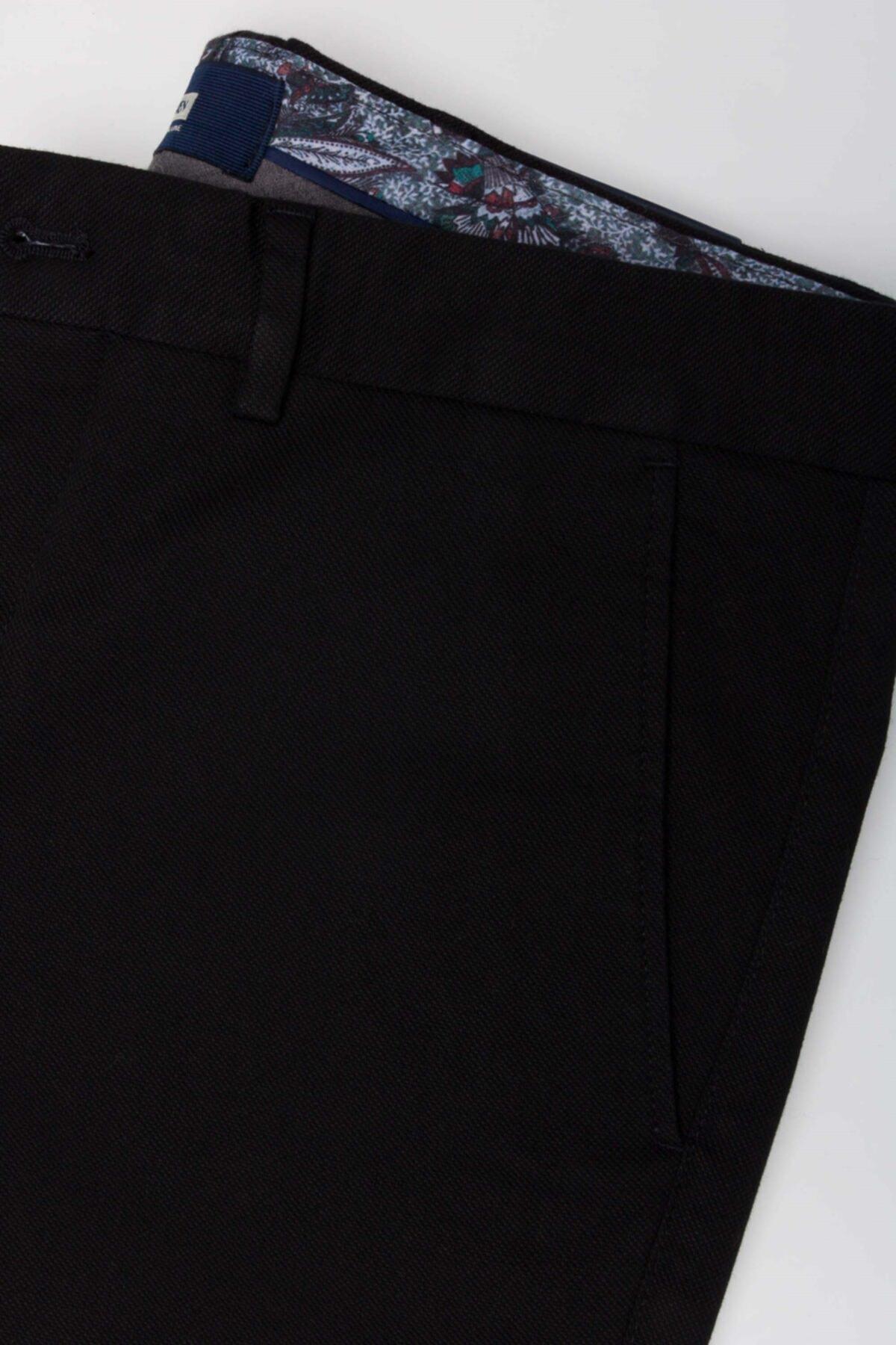 Jakamen Erkek Siyah Ekstra Slim Pantolon Jk32es12m023 2