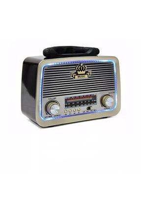 Avcill Şarjlı Nostaljik Görünümlü Radyo Bluetoothlu Mp3 Çalar Radyo Müzik Kutusu