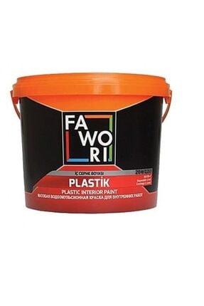 Filli Boya Fawori Plastik Iç Cephe Boyası 20 kg Andezit 10
