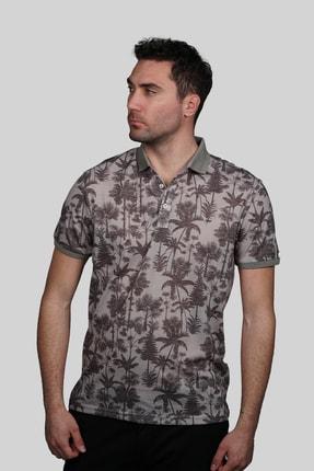 İgs Erkek Bej Modern Fit T-shirt