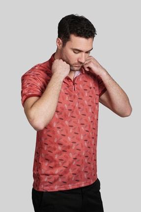 İgs Erkek Somon Modern Fit Polo Yaka T-shirt