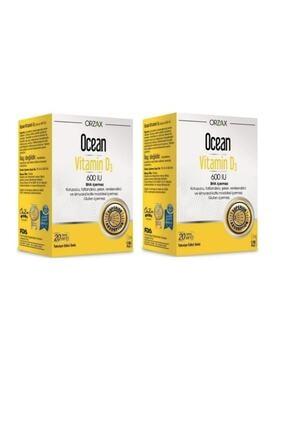 Ocean Vitamin D3 600 Iu Sprey 20ml X2 Adet