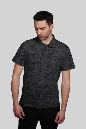 İgs Erkek Siyah Modern Fit Polo Yaka T-shirt