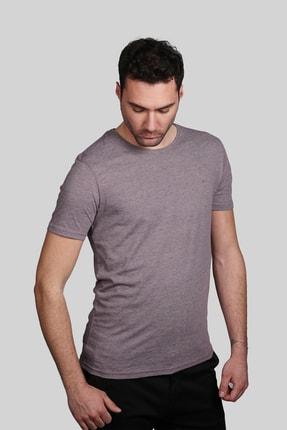 İgs Erkek Mürdüm Slim Fit Tişört