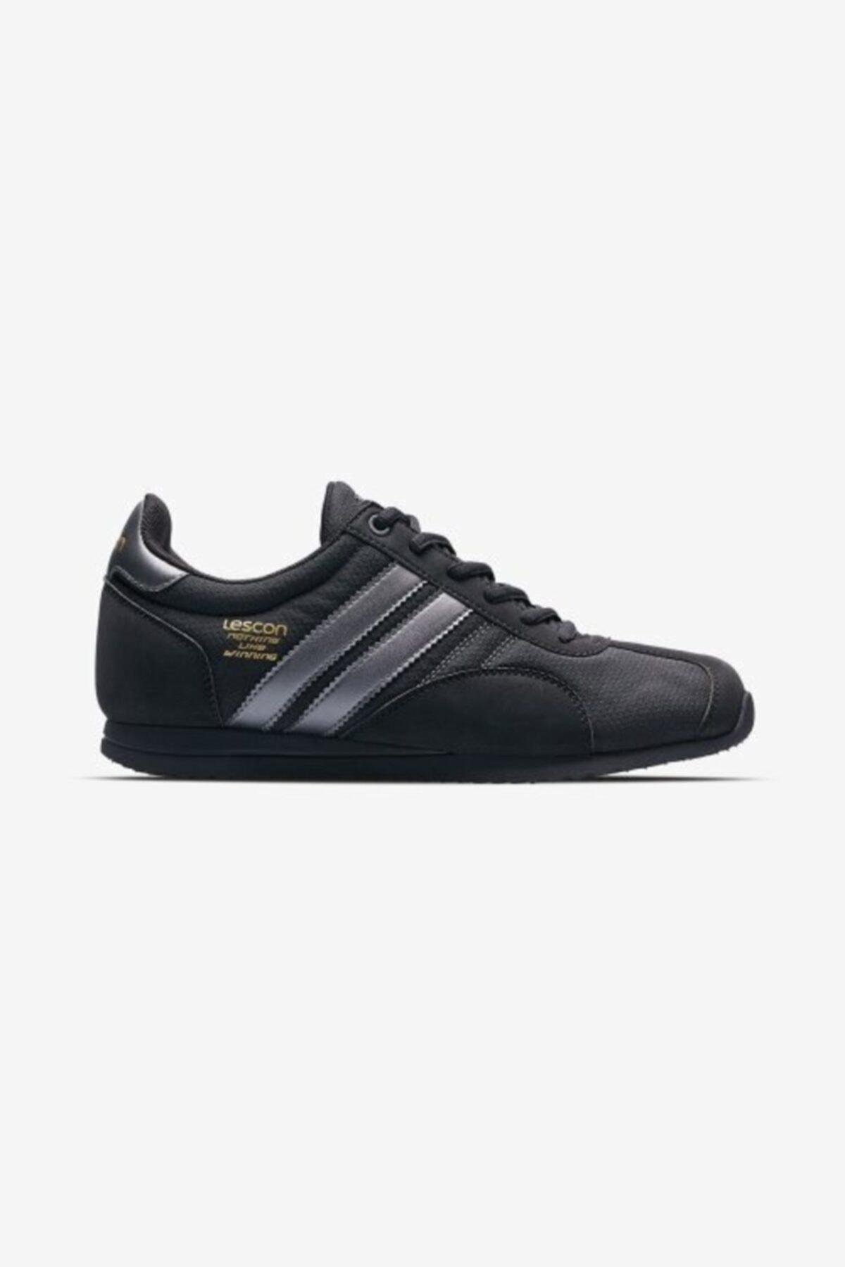 Lescon Unisex Siyah Sneaker Ayakkabı 1