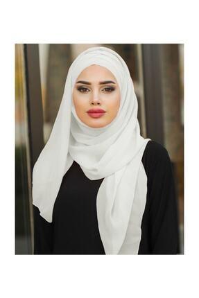 modi Kadın Üc Bandlı Hazır Beyaz Sal