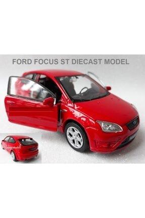 OYUNCAKSAHİLİ Ford Focus St Demir Araba Kapı Açılır Çekbırak Diecast Oyuncak