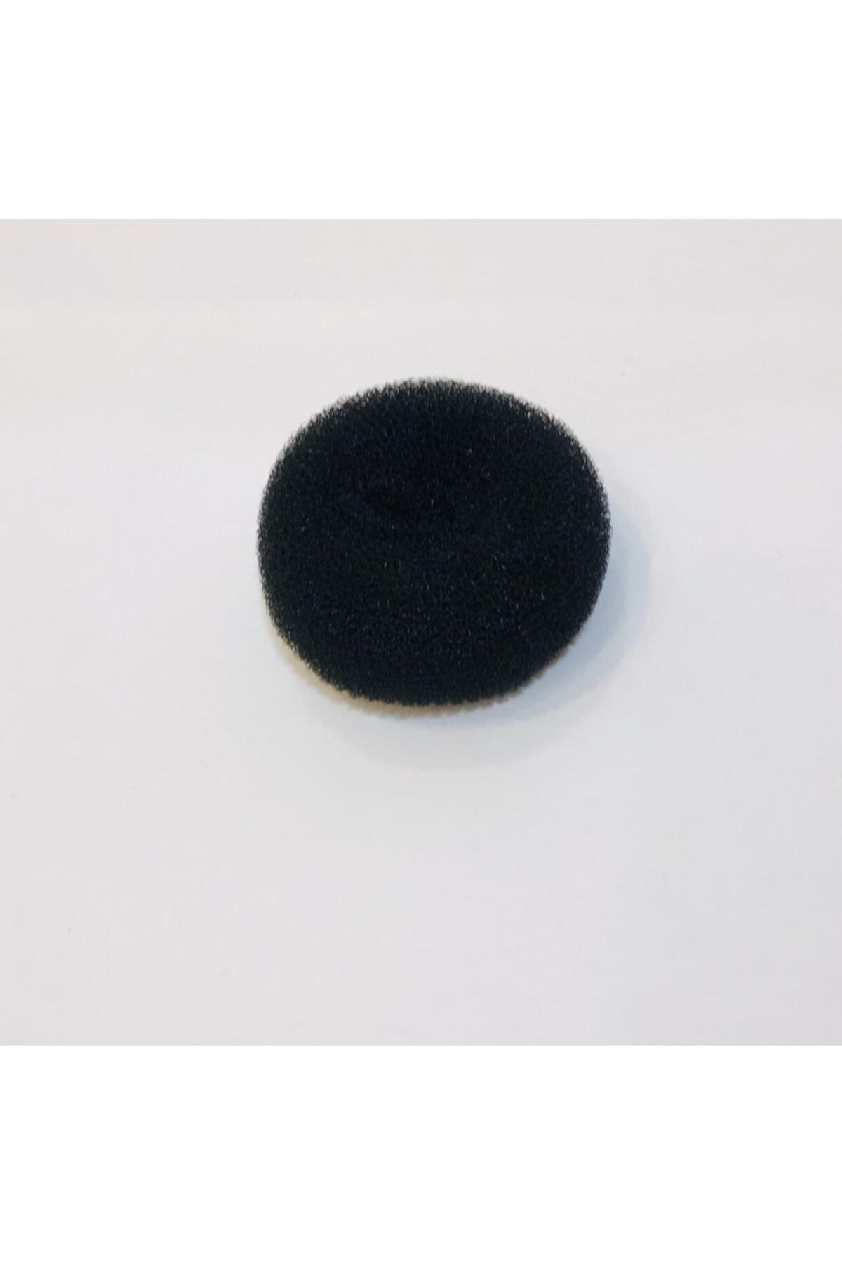 Mima Kadın Siyah Sünger Topuz Tokası 1