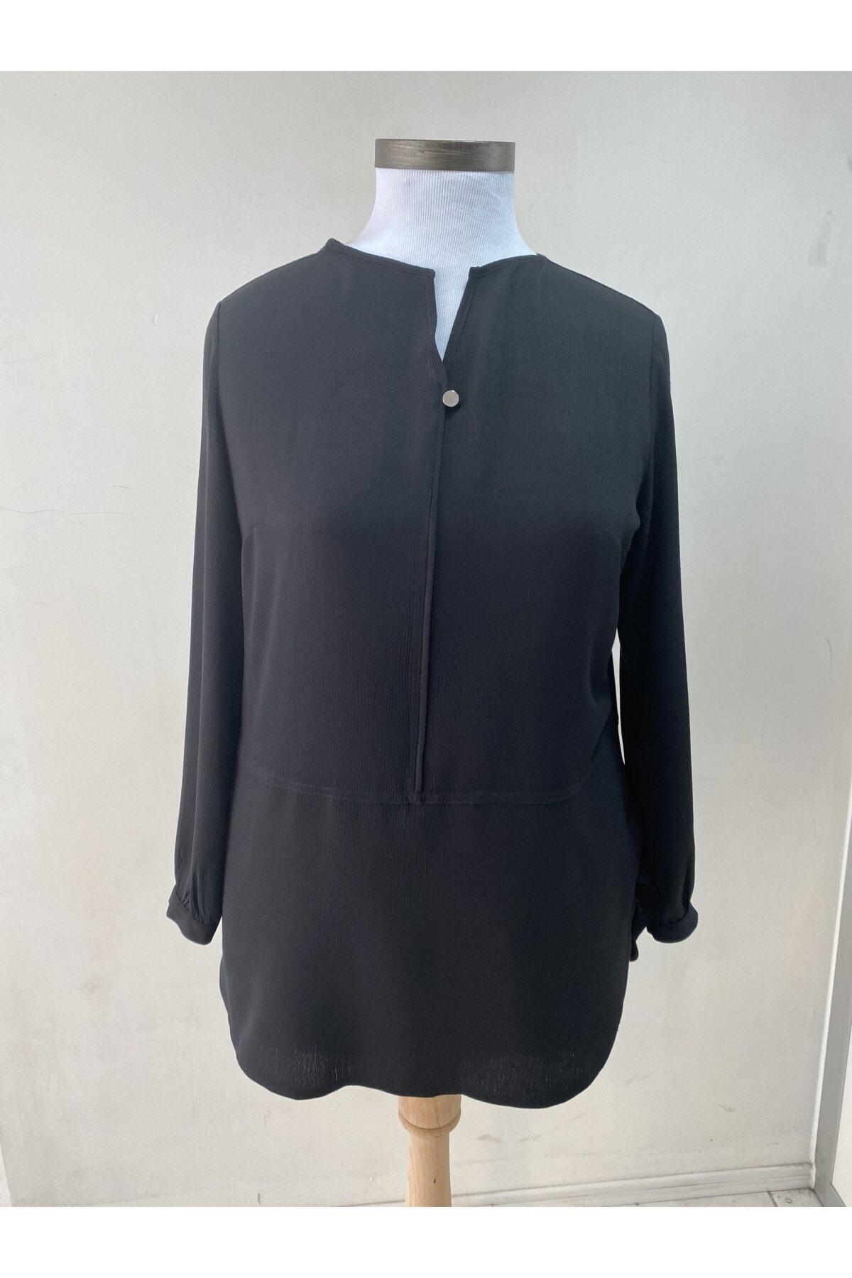 Loren Kadın Siyah Tunik 1