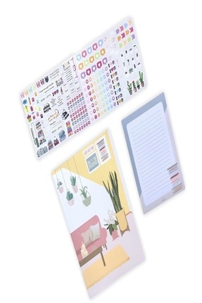 LaTua Design Kitap Ajandası Book Nerd Latua