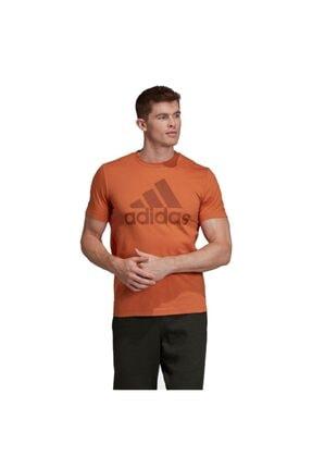 adidas Erkek Turuncu Must Haves Badge Of Sport T-Shirt