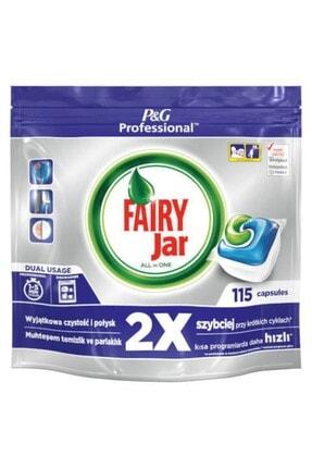 Fairy Professional Jar Hepsi Bir Arada Bulaşık Makinesi Kapsülü 115 Adet