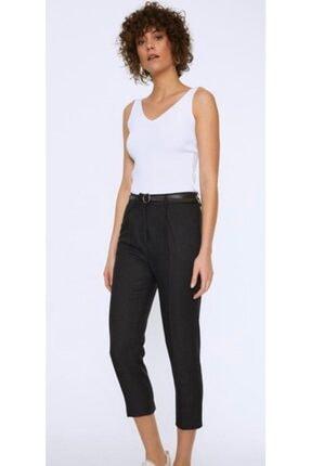 Quzu Kadın Siyah Pantolon