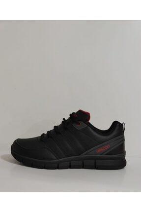 Lescon Unisex Siyah Spor Ayakkabı