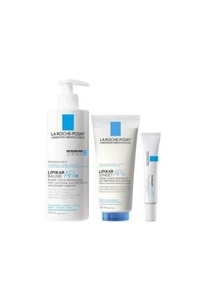 La Roche Posay Lipikar Baume + 400 ml + Syndet Ap+ 100 ml + Cicaplast Baume B5 15 ml Set