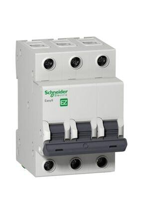Schneider Electric Easy9 3 Ka C Eğrisi 3 Kutup 50a Otomatik Sigorta