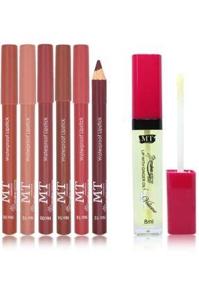 Makeuptime Kalem Ruj Seti+dudak Dolgunlaştırıcı