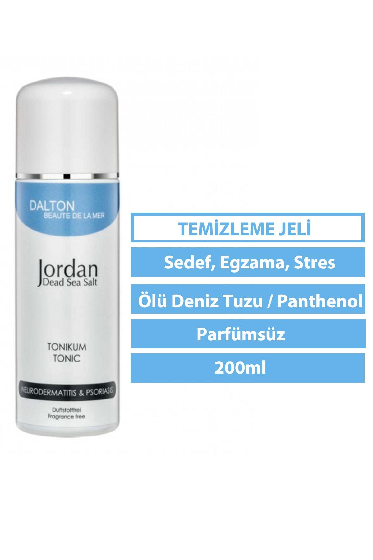 DALTON MARİNE COSMETİCS Jordan Dead Sea Salt Atopik Dermatit Sedef Egzama Sakinleştirici Tonik 1