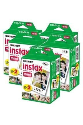 Fujifilm Fuji Instax Mini 10x2 20 Sheets Fotoğraf Filmi 5 Paket (100 Poz)