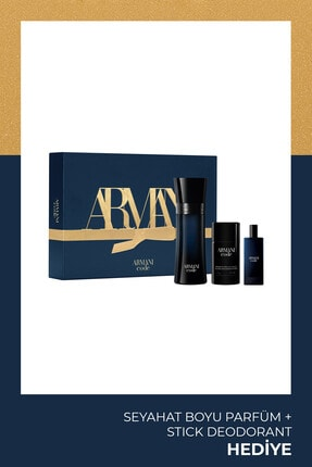 Giorgio Armani Armani Code Homme Edt 125 Ml Erkek Parfüm Seti 3614273260886