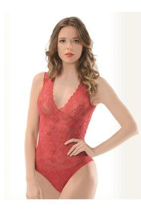 NBB Kırmızı Kadın Çıtçıtlı Body NBB 4470