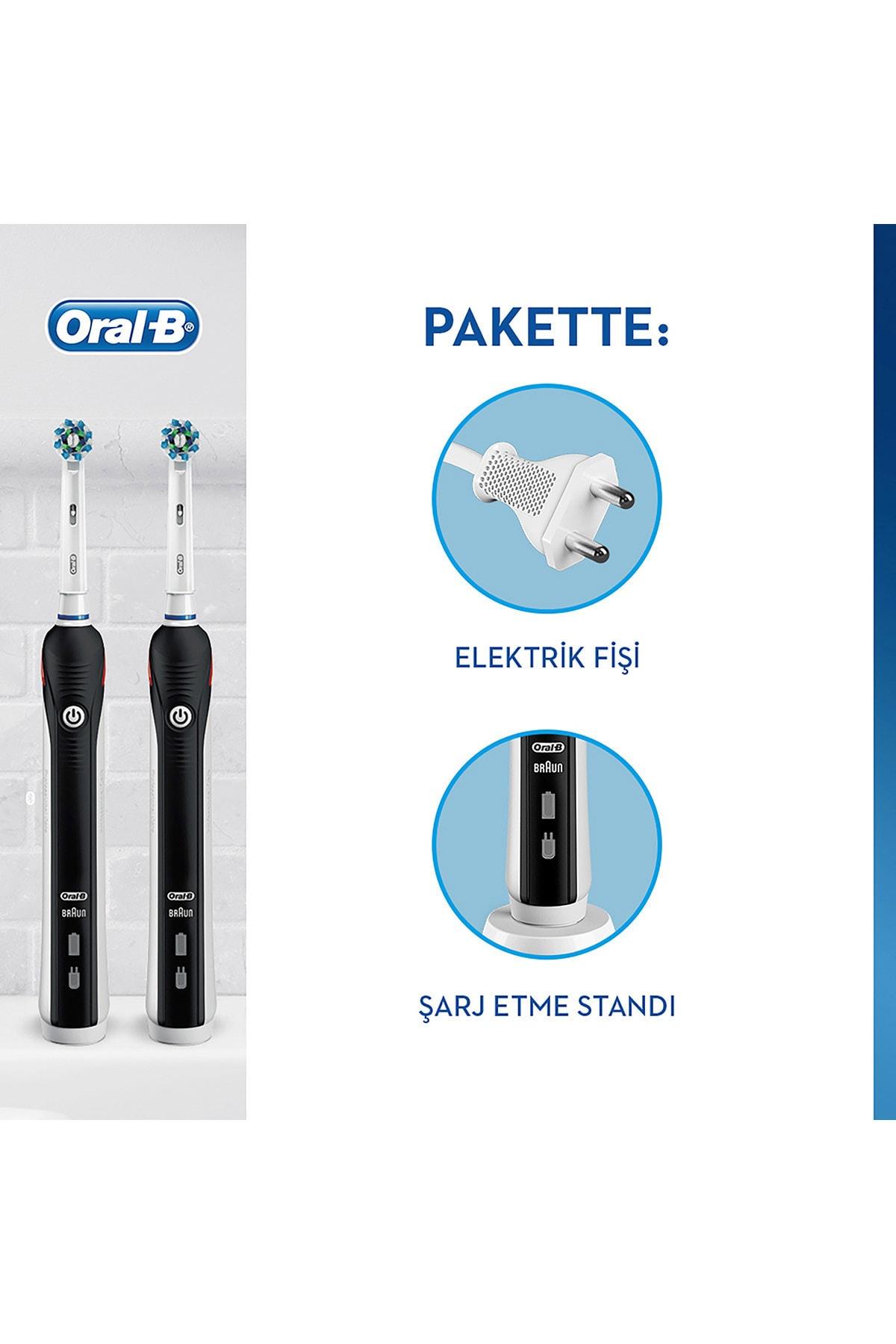 Oral-B Pro 2900 Şarj Edilebilir Diş Fırçası Siyah 2'li Avant 2