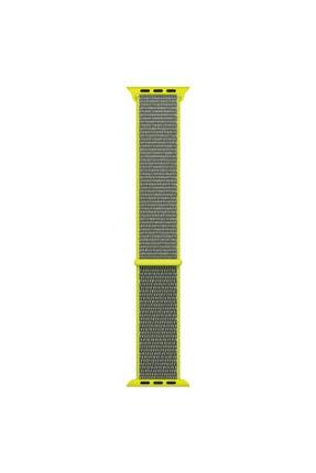 Microsonic Microsonic Watch Series 5 40mm Hasırlı Kordon Woven Sport Loop Flash