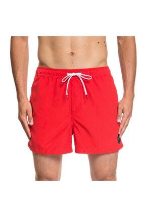 """Quiksilver Erkek Kırmızı Everyday 15"""" Spor Şort"""