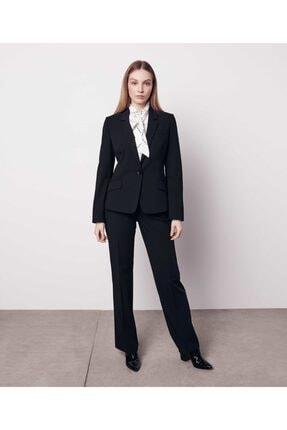 İpekyol Kadın Siyah Mono Yaka Ceket IW6190005221001