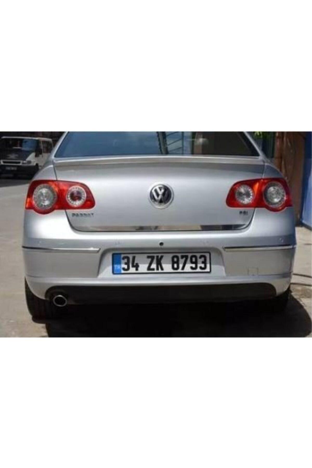 Niken Volkswagen Passat B6 Bagaj Alt Çıtası Krom Nikelajı 2005-2010 1