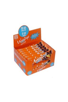 Uniq2Go Chocolight Portakal Parçacıklı Bar 50g. 16'lı Kutu