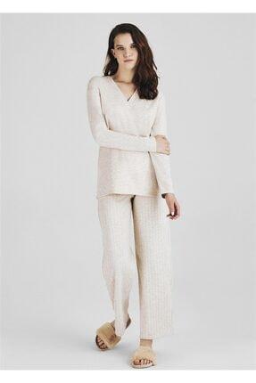Pheri Kadın Bej Pijama Takımı W1043W1042