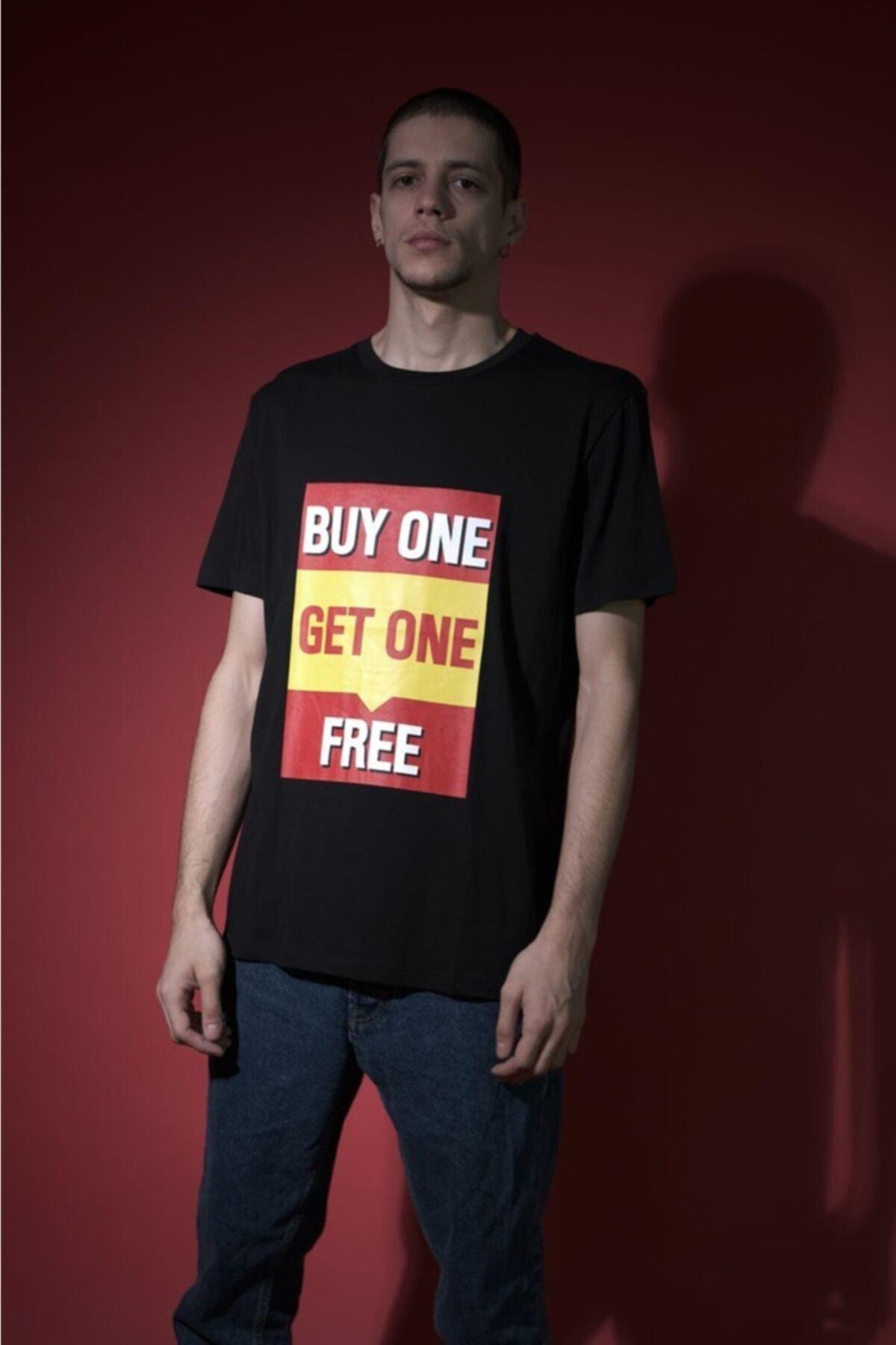 HOLEACADEMIE Erkek Siyah  Spor T-Shirt 2