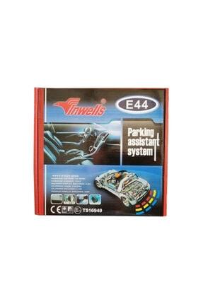 Inwells 4 Sensörlü Beyaz Türkce Konuşan Park Sensörü E44  26020