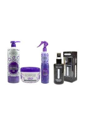 Morfose Keratin Serumu 75m+fön Suyu 400ml+maske 500ml + Şampuan