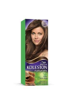 Koleston 6/7 Çikolata Kahve Wella Naturals Saç Boyası