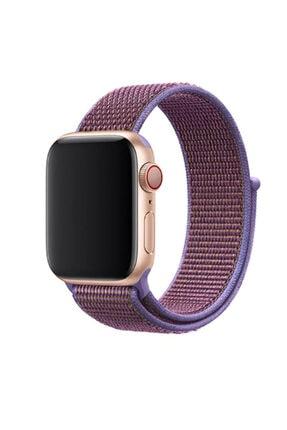 zore Apple Watch 4 Kordon Renkli Hafif Örgülü 44 Mm Krd-03