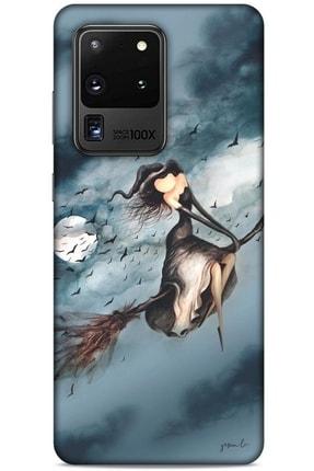 Lopard Y.liva-2021 Özel Seri Cadılı Samsung Galaxy S20 Ultra Kılıf Silikon Kapak