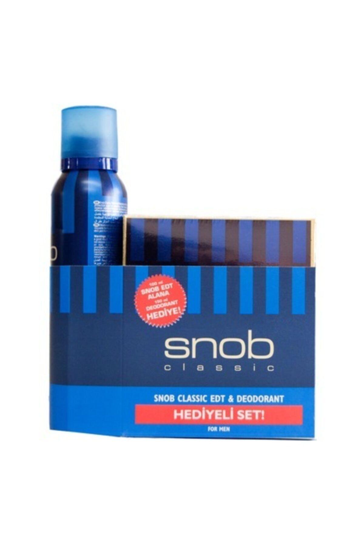Snob Classıc Edt 100ml+deodorant 150ml Set 1