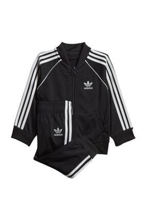 adidas Unisex Siyah Çocuk Superstar Suit Eşofman Takımı