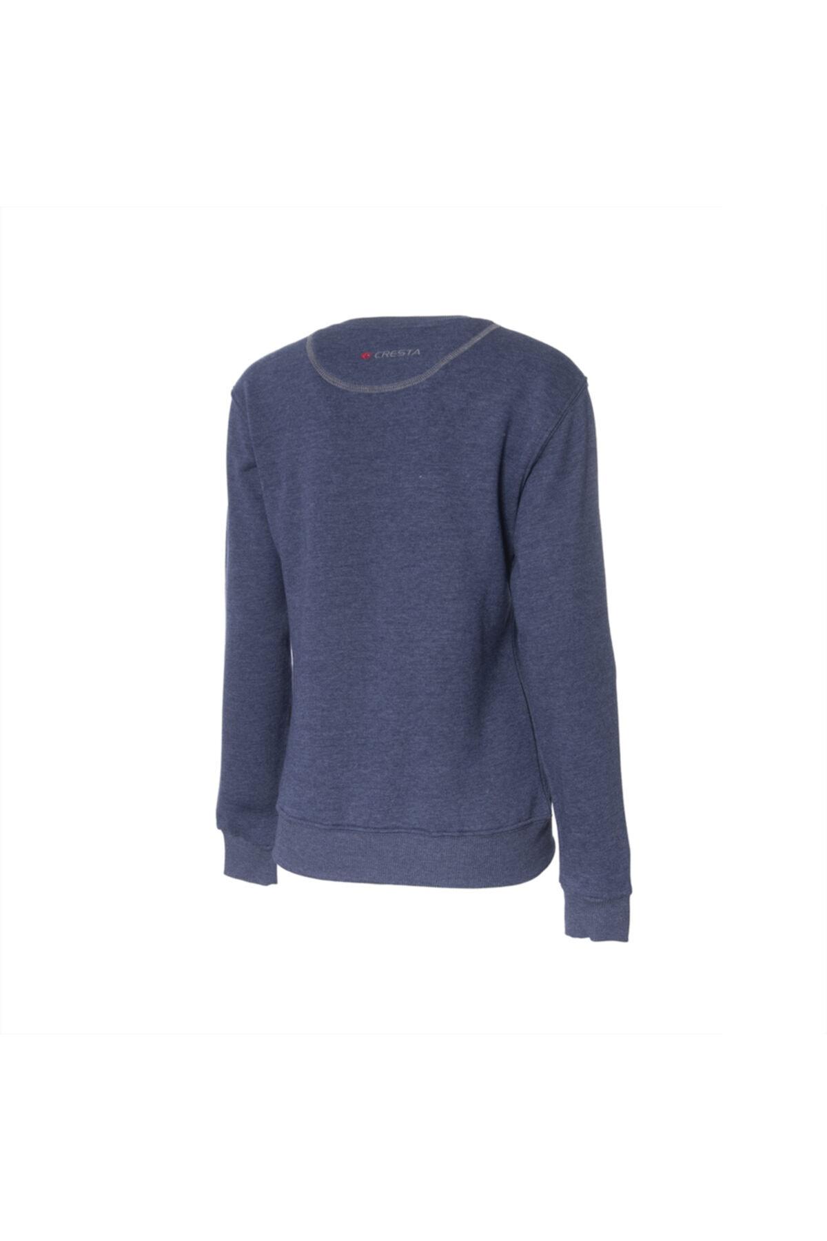 Cresta Kadın Lacivert Outdoor Basic Sweatshirt 2