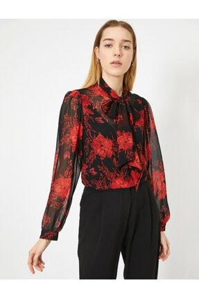 Koton Kadın Siyah Bluz 0YAK68917PW