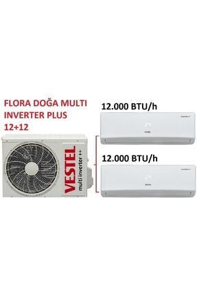 Vestel Flora Doğa Multi Inverter Plus 12+12 Klima